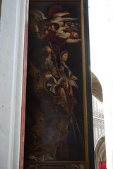 Rubens, Elevation triptych, exterior of left panel