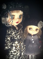 Blythe-a-DayNovember#29:Winter Is Coming: Daisy Buchanan, Scottie...& Binx