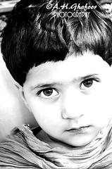 hopeful eyes (Abdul Hannan Ghafoor) Tags: bw white black cute hope kid high eyes exposure child hopeful
