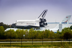 Shuttle Independence & Shuttle Carrier Aircraft