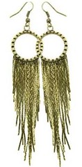 5th Avenue Brass Earrings P5030-5