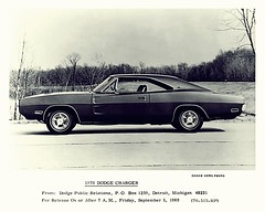 1970 Dodge Charger Factory Photo (Rickster G) Tags: 1969 car ads 1971 flyer 60s muscle convertible super literature 1966 bee 1967 70s dodge 1970 1968 hemi mopar 500 daytona sales 1972 brochure 440 1973 rt charger sixpack dealer 426 383 4406 bbody scatpack