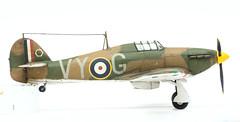 Hawker Hurricane Mk.I (mr.beaver) Tags: model hurricane panasonic plastic kits g3 vivitar hawker 172 70210 mki mrbeaver strobist f354 airfixa01010