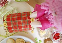 Um botãozinho dá um charme especial! (Ateliê Bonifrati) Tags: christmas cute natal diy cookie craft tutorial pap receitas passoapasso bonifrati biscoitosdenatal craftchristmas