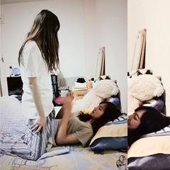 actresses in my short film #theroommate like a AV movie LOL // เบี้ยนก็บอกเบี้ยนดิ อิอิอิอิอิอิ เดี๋ยวนี้แม่ง ทำหนังอะไรก็จะถ่ายแต่คู่เบี้ยน เป็นไรมากมั้ยหมอนนน