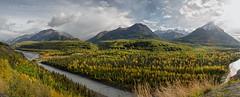 We Three Kings (Ed Boudreau) Tags: mountains alaska river landscape fallcolors matsu stormclouds alaskamountains moutainrange alaskalandscape matamuskariver