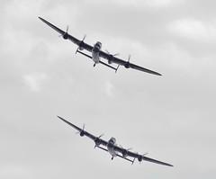 Avro Lancasters (Tim Spouge) Tags: show ed nikon air 300mm if nikkor clacton f28 ais 2014