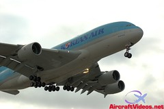 Korean Air A380-861 [HL7614] (aircraftvideos) Tags: california plane airplane airport traffic angeles aircraft aviation cargo international airbus boeing lax runway airliner klax avgeek avhooker