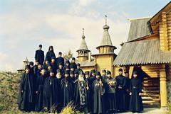 94. Освящение малого Всехсвятского храма 2004 г
