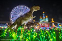 Dinosaurs Roam a Wonderland (Andrionni Ribo) Tags: christmas newyears sacramento globalwinterwonderland