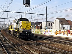 7870  Berchem  16.03.09 (w. + h. brutzer) Tags: digital train nikon eisenbahn railway zug trains locomotive 78 berchem belgien lokomotive diesellok eisenbahnen sncb dieselloks webru