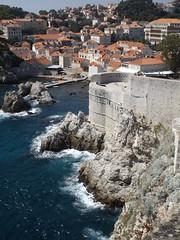 Walls of Old Town in Dubrovnik (ale.ricca) Tags: sea summer love beautiful photo walk croatia walls oldtown croazia dubrovnik ragusa