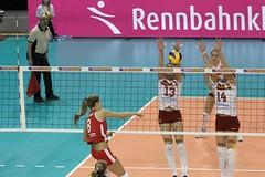 GO4G9596_R.Varadi_R.Varadi (Robi33) Tags: game sport ball switzerland championship team women action basel tournament match network volleyball volley referees