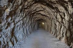 La galleria lungo il sentiero
