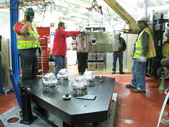 SHARP Coming In (KAGoldberg) Tags: mask sharp microscope als lbnl euv assembly beamline1132 photomask cxro