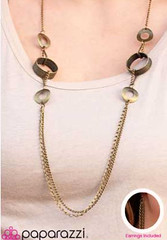 5th Avenue Brass Necklace K2 P2441-3