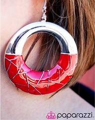 Sunset Sightings Red Earrings K1 P5920-1