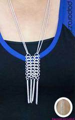 5th Avenue Silver K2 Necklace P2220-3