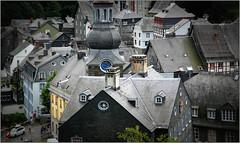 Monschau (Montjoie), Eifel, Deutschland, Germany (claude lina) Tags: germany deutschland eifel allemagne monschau colombages roer rur ardoises montjoie