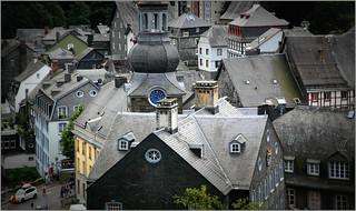 Monschau (Montjoie), Eifel, Deutschland, Germany