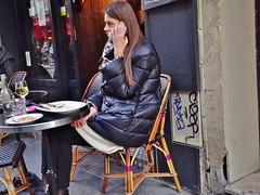2015-01-17  Paris - 12 rue des Petits Carreaux (P.K. - Paris) Tags: street people paris café french terrace candid january terrasse janvier 2015