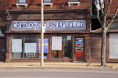 Cr. Watkins Furn. & Fuel Co. Pepsi (pasa47) Tags: winter unitedstates january stlouis missouri southside patch saintlouis carondelet southcity 2015 southstlouis