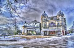 Painterley3 Opera House. (sidibousaid60) Tags: uk winter cold buxton derbyshire operahouse hdr photomatix tonemapped