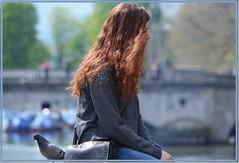 Zurich: Girl & pigeon (Ioan BACIVAROV Photography+4millions visits-Thanks) Tags: girls portrait woman sexy bird nature girl beautiful fashion wonderful switzerland spring interesting glamour women suisse bokeh pigeon moda natura fete helvetia mode fille printemps filles photostream fata primavara wonderfulphoto ioanbacivarov bacivarov