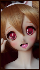 DDH06 Nekomimi Cat girl (Clockwork_Angel) Tags: girl cat dream ears super lingerie sd dollfie dds nekomimi