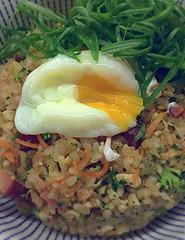 (LaTur) Tags: bacon colorado rice egg denver friedrice foodie eater osakaramen