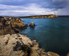 Cabo Rojo on Velvia (GOJR.) Tags: ocean seascape film analog mediumformat puertorico 6x7 caborojo velvia50 mamiyarb67pros ncps mamiyasekor50mm