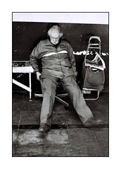 (ignaciogutirrezohlsson) Tags: chile street old santiago portrait bw black film analog 35mm 50mm calle nikon streetphotography monochromatic f3 viejo analogo