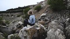 INTO THE WILD (deboralph) Tags: wild nature photography cowboy rocks desert stones explore bulgaria cowgirl indianajones discover