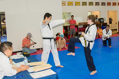 2016 Black Belt Test__DSC5127_70 (allen_cart) Tags: test white black belt tiger taekwondo whitetiger blackbelttest 2016