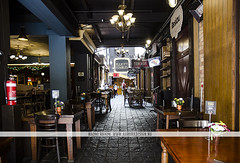 Elliot Stables - Auckland, NZ (Naomi Rahim (thanks for 2 million hits)) Tags: city travel newzealand summer urban architecture restaurant cafe nikon historic wanderlust auckland nz northisland foodcourt stables 2015 horsestables travelphotography nikond7000 elliotstables