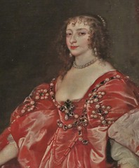 "Anthony Van Dyck ""Portrait of Queen Henrietta-Maria"" (1638) (Tatiana Koh) Tags: museum painting queen saintpetersburg hermitage vandyck henriettamaria"