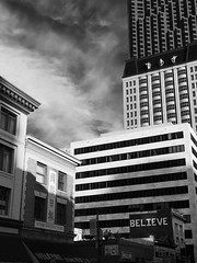 Believe ( les sans culottes ) Tags: believe city arquitecture san francisco california building type typo typography