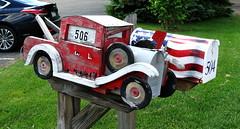 U.S. Mail (e r j k . a m e r j k a) Tags: moon mailbox pennsylvania explore figure americana roadside allegheny erjkprunczyk