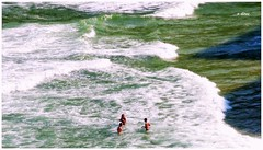 Joatinga (o.dirce) Tags: sea praia beach nature mar natureza ondas praiadajoatinga nadadores odirce