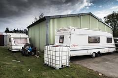 Trailer Trash (Number Johnny 5) Tags: urban trash nikon decay rubbish d750 trailer caravan yarmouth grime tamron gorleston 2470mm grot