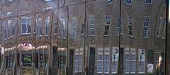 Castlegate reflections 17 (Golux.) Tags: distortion reflection square mirror scotland artwork photographer distorted citadel reflected aberdeen installation granite flagstone castlegate