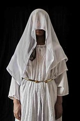 Escaped (seivan m.salim) Tags: girls portrait is women war refugees muslim islam iraq rape weddingdress isis genocide exodus reportage kurdish displaced displacement idps yazidi irq iraqikurdistan kudistan documentray iraqcrisis amapofdisplacmeent zhakoduhok