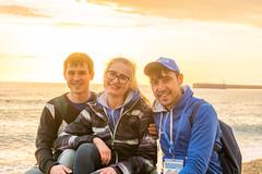 DSC_0187-3 (sergeysemendyaev) Tags: sunset sea storm beach spring warm waves russia dusk adler atthebeach seashore blacksea seacoast bigwaves sochi  2016                 duringf1 1 duringformulaone