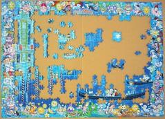 Cats in Venice (Sven Hartmann) (Leonisha) Tags: puzzle unfinished jigsawpuzzle