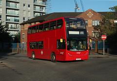 Blankety Blank - Route 188, Abellio London, 9452, LJ09CDF (Jack Marian) Tags: bus london buses alexander dennis deptford enviro northgreenwich russellsquare greewich 9452 e400 alexanderdennis route188 enviro400 alexanderdennisenviro400 abelliolondon lj09cdf