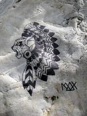 Stencil [Lyon, France] (biphop) Tags: streetart france stencil europe lyon gros caillou pochoir croixrousse