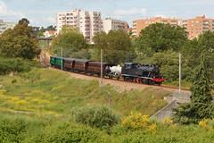 Comboio de Formao n. 32302 - Triana (valeriodossantos) Tags: portugal train cp especial triana matosinhos comboio formao passageiros caminhosdeferro vaporosa 0186 locomotivaavapor carruagens comboiohistrico linhadeleixes carruagensdemadeira acdt481 vagozk carruagenshistricas vagocisterna acdt484 ctf5513 ctf5511 ctf2282 comboiodeformao