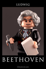 Ludwig van Beethoven (kosbrick) Tags: lego contest may competition beethoven minifig ludwig challenge minifigure moc 2016 maynifigure