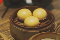 Bao with salted duck egg core (iSam's) Tags: food dinner duck san with main egg style hong kong viet meal lou fu dim core nam bao sum salted isam