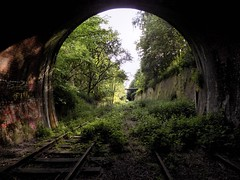 One Year On... (Jason_Hood) Tags: disused abandoned railway railroad southstaffordshireline southstaffordshirerailway dudleytunnel tunnel dudley
